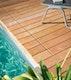 OSMO Terrassendiele Ipe glatt / glatt FAS, KD