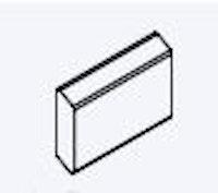 OSMO Sichtblende Rhombus Einzelprofil 2,4 x 75 x 300 cm