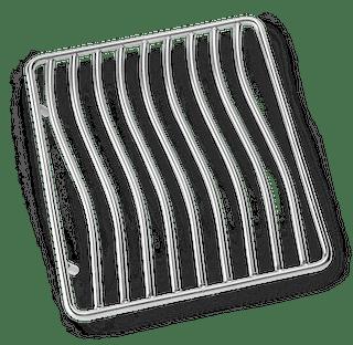 NAPOLEON Edelstahl Seitenbrennerrost für SIZZLE ZONE, klein