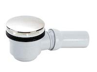 Ablaufgarnitur für superflache Brausewanne 90 mm, chrom