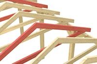 Skan Holz Schneelasterhöhung für Satteldach Carports