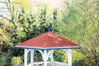 Skan Holz Metall Regenrinnen-Set für Pavillon Nice