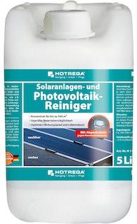 Hotrega Solaranlagen- und Photovoltaikreiniger 5 Liter Kanister (Konzentrat)