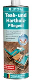 Hotrega Teak- und Hartholz-Pflegeöl 1 Liter Dose