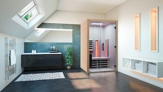 Infraworld Infrarotkabine TrioSol Design 125 Espe VG