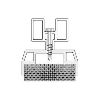 UPM ProFi Schraubenzubehör - A4 Edelstahl-Bohrschraube mit Bit 4 x 20,5mm