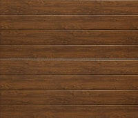 Hörmann Garagentor Sektionaltor LPU RenoMatic Decocolor Dark Oak