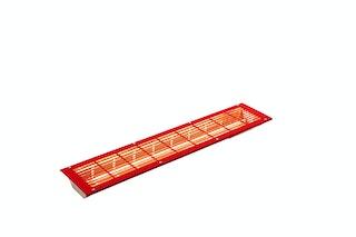Infraworld Infrarotstrahler VITALlight-IPX4 rot gerader Einbau - 500 W