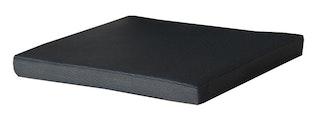 Diamond Garden Sitzkissen VENEDIG für Bank PIERO Kunststoffgewebe schwarz / silber