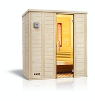 Infraworld Sauna Vitalis 184 Complete - 40 mm Massivholzsauna