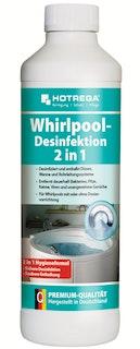 Hotrega Whirlpool-Desinfektion 2 in 1 500 ml Flasche (Konzentrat)
