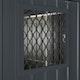 Globel Seitenfenster 62x62 cm, anthrazit, für Skillion, Lean To, Dream