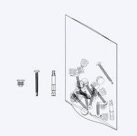 OSMO FENCE Zubehörbeutel für 3 Profile