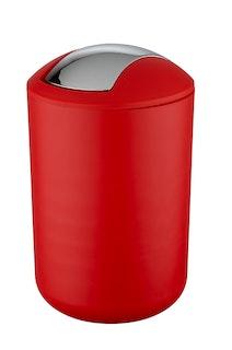 Wenko Schwingdeckeleimer Modell Brasil,L,rot