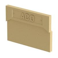 ACO Self® 200 Entwässerung Stirnwand für Rinnenanfang und Rinnenende
