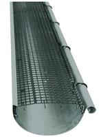 Dachrinnengitter aus Kunststoff, für Rinnen 90- 150 mm