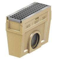 ACO Self® Einlaufkasten mit verzinktem Maschenrost - Länge 50 cm