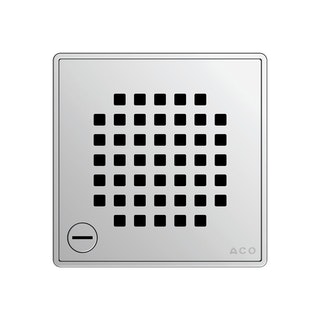 ACO E-point Design-Rost Quadrato verriegelbar