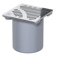 ACO Easyflow Aufsatzstück Standard inkl. Schlitzrost verriegelbar