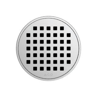 ACO E-point Design-Rost Quadrato rund