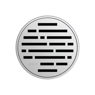 ACO E-point Design-Rost Mix rund