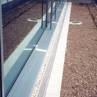 ACO Self® Stegrost stahl verzinkt für Profiline Holzterrassenrinne
