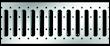 ACO Self® Sanierungsrost Stahl verzinkt
