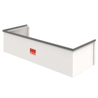 ACO Therm® Aufstockelement (h= 27,5 cm) für Lichtschachtbreite 125 cm - Tiefe 60 cm