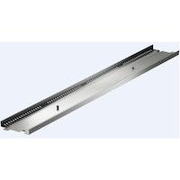 ACO Profiline Holzterrassenrinne Stahl verzinkt