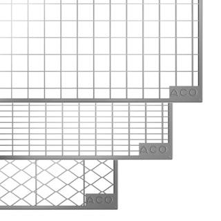 ACO Therm® Lichtschacht Abdeckrost begehbar 125 x 40 cm