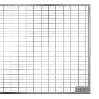 ACO Therm® Lichtschacht Abdeckrost befahrbar 100 x 40 cm - Maschenrost 30/10 mm