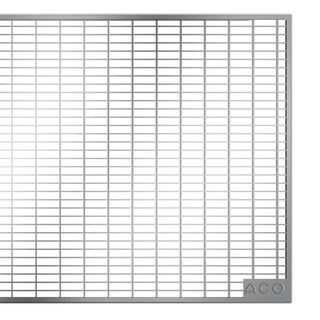 ACO Therm® Lichtschacht Abdeckrost befahrbar 125 x 60 cm - Maschenrost 30/10 mm