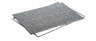 ACO Self® Schuhabstreifer Rips Grau mit Alu Winkelrahmen