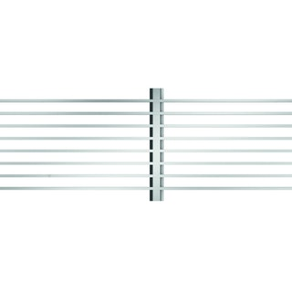 ACO Self® Längsstabrost 3 x 15 mm Stahl verzinkt für Profiline Holzterrassenrinne