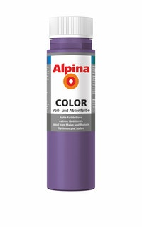 "Alpina Color Abtönfarbe ""Sweet Violet"""