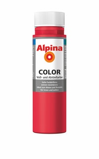 "Alpina Color Abtönfarbe ""Fire Red"""