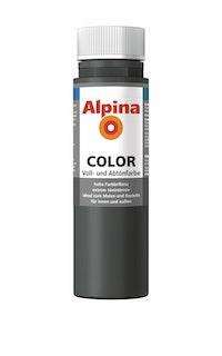 """Alpina Color Abtönfarbe """"Dark Grey"""""""