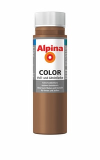"Alpina Color Abtönfarbe ""Candy Brown"""