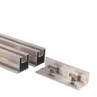 aMbooo Extension für Unterkonstruktion Aluminium 43 x 40 mm