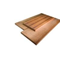 aMbooo Terrassendiele Bambus Mega Deck in coffee HANDMUSTER