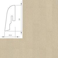 WICANDERS Steckfußleiste Kork Timide 2400x50x20 mm