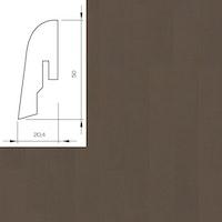 WICANDERS Steckfußleiste Kork Nightshade/Algae 2400x50x20 mm