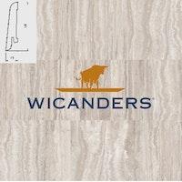 WICANDERS Steckfußleiste Traver. Argent