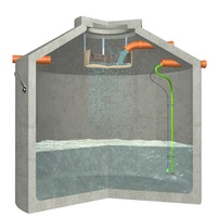 Aquaroc Hydrophant - Der Starke - Modell N zur Regenwasser-Nutzung