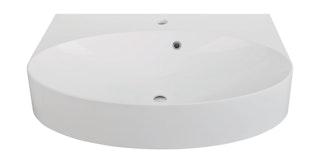 Sanitop Waschtisch cOn Mineralguss, weiß