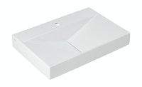 Sanitop Waschtisch Flux 65 cm, weiß