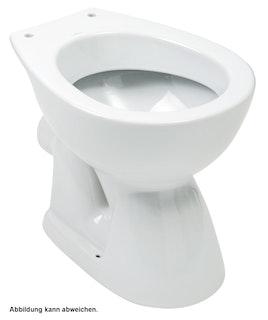 Sanitop Stand-WC, Tiefspüler waagerecht, weiß