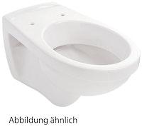 Sanitop Wand-WC, Tiefspüler, weiß