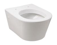 Sanitop Wand-WC-Set citY Ausladung 48 cm, Tiefspüler, weiß