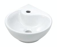 Sanitop Eck-Waschtisch Dropino 35 cm, weiß